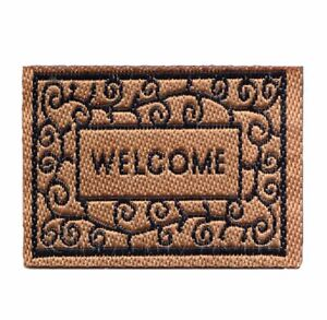 Dolls House Miniature Classic Style Welcome Mat (NW13)