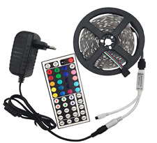 LED Light Strip - Cut to Length 16 ft. - Adhesive Back - w/ Color Set Remote