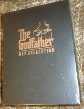 The Godfather DVD Collection (DVD, 2001, 5-Disc Set, Sensormatic), NEW & SEALED
