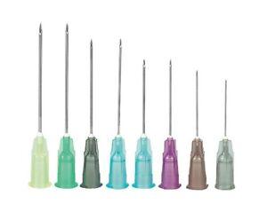 10 Einmalkanülen Gr. 1 GELB 0 9x 40 mm für Einmalspritzen Injektion Kanüle luer