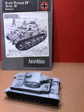 Axis & Allies Contested Skies #: 33/45 Elite Panzer IV Ausf. D