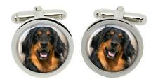 Hovawart Dog Cufflinks in Chrome Box