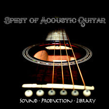 ACOUSTIC GUITAR SPIRIT  - Real MULTI-LAYER SAMPLES over 3.500 Objects on CD