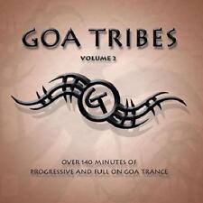 GOA TRIBES 2 = Audiotec/DNA/Sub6/X-Noize/Phanatic...=2CD= PSY TRANCE PROGRESSIVE