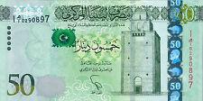 Libya P-80 50 dinars (2013) UNC