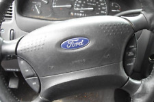 2001-2003 FORD RANGER LEFT DRIVER SIDE STEERING WHEEL AIRBAG AIR-BAG BLACK OEM