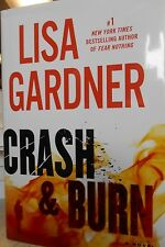 Crash & Burn by Lisa Gardner new large print hardcover Book Club edition