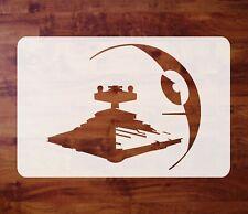 Mylar Star Wars Stencil, Death Star Destroyer, Paint, Airbrush FREE SHIPPING