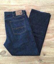 American Eagle Outfitters Men's ORIGINAL STRAIGHT  Dark Denim Blue Jeans 38 X 31