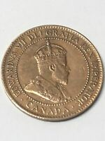 Edward VII One Cent 1904 Canada Coin