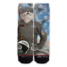 Function - Top Cat Fashion Socks all over sublimation sublimated dye crazy dress
