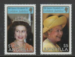 ## NEW ## Anguilla - 2002 QEII Golden Jubilee issues MNH