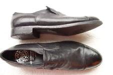 ALBERTO FASCIANI eleganter Slipper aus schwarzem Leder neu 40 - eher 41 Fehlkauf