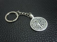 KC086 Tree of Life Keychain Souvenir Pewter Key Ring Christmas Gift Bag Symbol