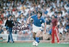 Bruno Conti Hand Signed Italy 12x8 Photo 1.