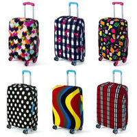 S-XL Travel Luggage Suitcase Elastic Cover Spandex Cover Protector Dustproof NJB