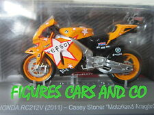 MOTO GP 1/18 HONDA RC212V  CASEY STONER MOTORLAND ARAGON  2011 COLLECTION ALTAYA