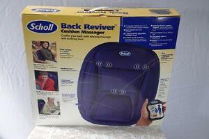 Scholl back reviver cushion Massager