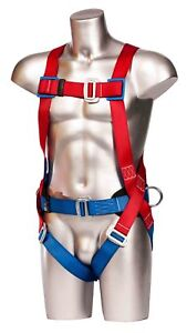 PORTWEST 2 Point Safety Harness Comfort Fall Protection Arrest Full Body FP14