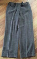 NWT Dana Buchman Mariel Pants Black and Natural Women's Size 14 Fits Reg 16 $320