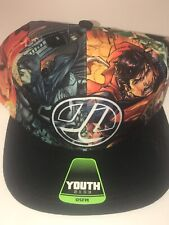 Nwt Dc Comics Justice League Youth Cap Hat Batman Superman Wonder Woman Aqua man
