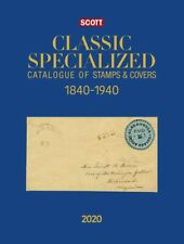 2020 Scott Classic Specialized Catalog World Catalogue Stamp & Covers 1840 1940