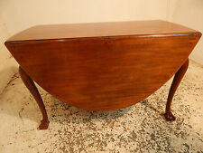 antique,edwardian,walnut,oval,drop leaf,gate leg,table,ball and claw feet,extend