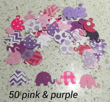 Pink Paper Scrapbooking Die-Cut Shapes & Punchies