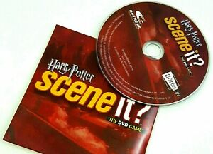 Harry Potter Scene It 1st Edition Replacement Part DVD ONLY PERFECT CONDITION!