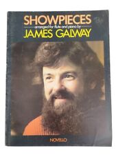 Showpieces Arranged for Flute and Piano Music Songbook by James Galway