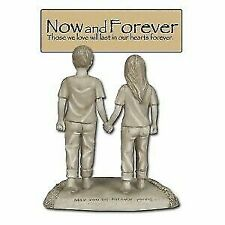 4.5 Inch Forever Young and in Love Couple Keepsake Statue Figurine