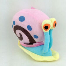 "Gary SpongeBob Squarepants Pet Snail Soft Plush Toy Stuffed Animal New 6"""