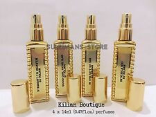 4 Kilian Perfumes each bottle 14ml (0.4 fl. oz.) decanted perfumes