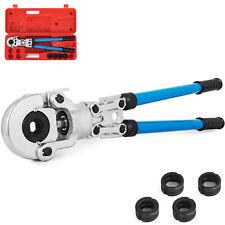 Pinza Crimpatrice Pex Pressatrice Per Tubo Multistrato Manuale V 12-28mm