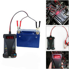 DC 12V Digital ATV Motorcycle Battery Tester Charging Circuit Analyzer Tool TRIG