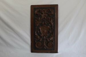 collectable carved wooden wall plaque