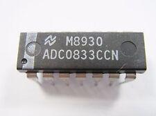 ADC0833CCN   8-Bit Serial I/O A/D Converter   IC SCHALTKREIS #AF21