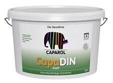 Caparol CapaDIN Farbe 12,5 Liter weiss - diffusionsfähig, lösemittelfrei -