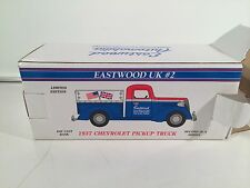 1937 Chevy Pickup Bank 116500 Eastwood UK #2  N Series Factory Wrapped MIB