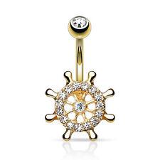Custom Belly Bars Crystal Dangle Body Piercing Jewellery Rings Navel free p&p.