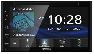 KENWOOD DDX5707S CD DVD APPLE CAR PLAY ANDROID AUTO Bluetooth 6.75 SCREEN