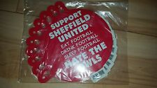 Support Sheffield United Hate The Owls Football Hang Up - Comedy - Suction Cup