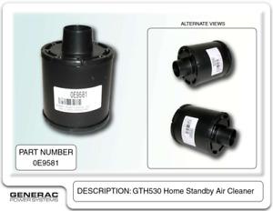 Generac 0E9581 - Guardian Air Filter 10kW  GTH530 HSB