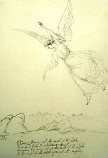 CLASSICAL THE SONG OF DEBORAH  THE ANGEL OF THE LORD SEPIA  HUGH REVELEY 1864