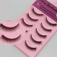 5Pairs New Popular False eyelashes natural extensions hand made short eye lashes