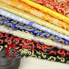 Ancient Costume Chinese Tang Dragon pillow Clothes Kimono Cos Silk Satin Fabric