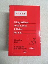 (12) RXBAR 12 g Whole Food Protein Bar Chocolate Cherry 1.83 Oz Each @3