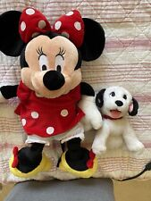 Disney Minni Mouse And Barking Dalamation Guc!