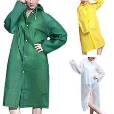 CO_ Fashion Clear See Through Raincoat Transparent design Rain Coat EVA Outdoor