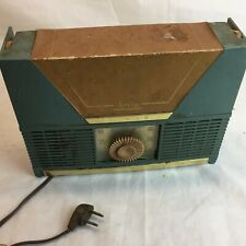Vintage Arvin 854P Portable Tube Radio Project Working Free Shipping